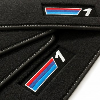 Tapis BMW Série 1 E81 3 portes (2007 - 2012) Velour M Competition