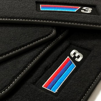 Tapis BMW Série 3 E91 Break (2005 - 2012) Velour M Competition