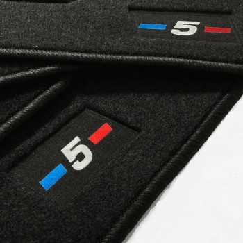 Tapis BMW Série 5 GT F07 Gran Turismo (2009 - 2017) logo sur mesure