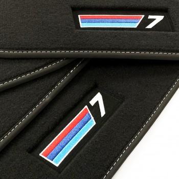 Tapis BMW Série 7 E66 long (2002-2008) Velour M-Competition