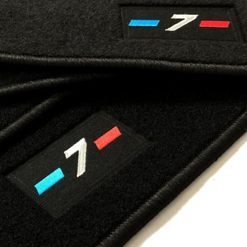 Tapis BMW Série 7 F01 court (2009-2015) logo sur mesure