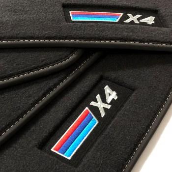 Tapis BMW X4 G02 (2018-actualité) Velour M-Competition