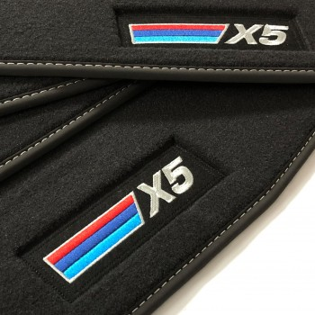 Tapis BMW X5 F15 (2013 - 2018) Velour M Competition