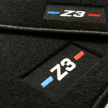 Tapis BMW Z3 logo sur mesure