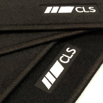 Tapis Mercedes CLS X218 Restyling Break (2014 - actualité) logo sur mesure