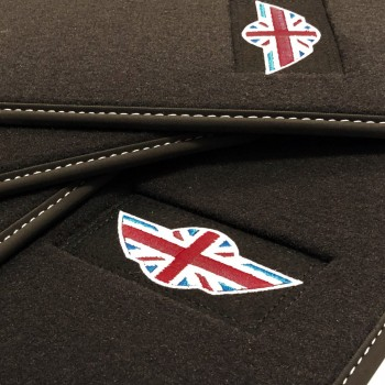 Tapis Mini Cooper / One F55 5 portes (2015 - actualité) Velour logo Mini
