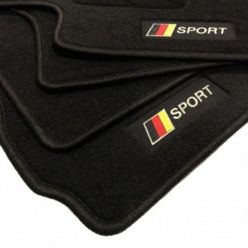 Tapis de sol drapeau Allemagne BMW Série 6 F06 Gran Coupé (2012 - actualité)