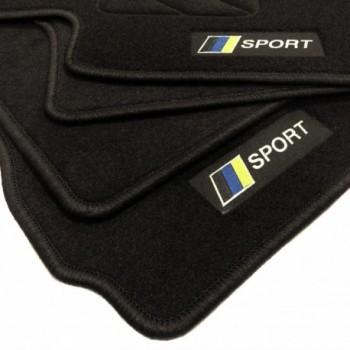 Tapis de sol drapeau Racing Chevrolet Captiva 5 sièges (2006 - 2011)