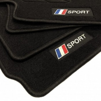 Tapis de sol drapeau France Peugeot 107 (2009 - 2014)