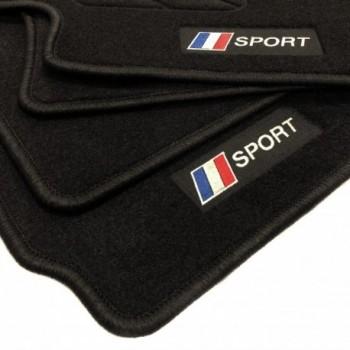 Tapis de sol drapeau France Peugeot 605