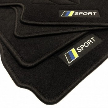 Tapis de sol drapeau Racing Toyota Avensis Break Sports (2009 - 2012)