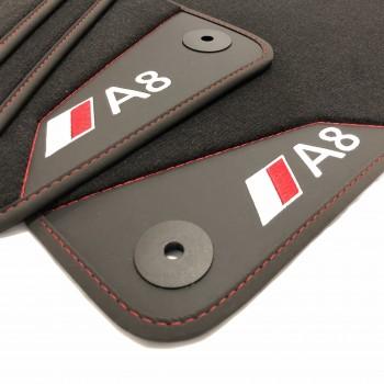 Tapis de Voiture Audi A8 D3 / 4E (2003-2010) - Le Roi du Tapis®