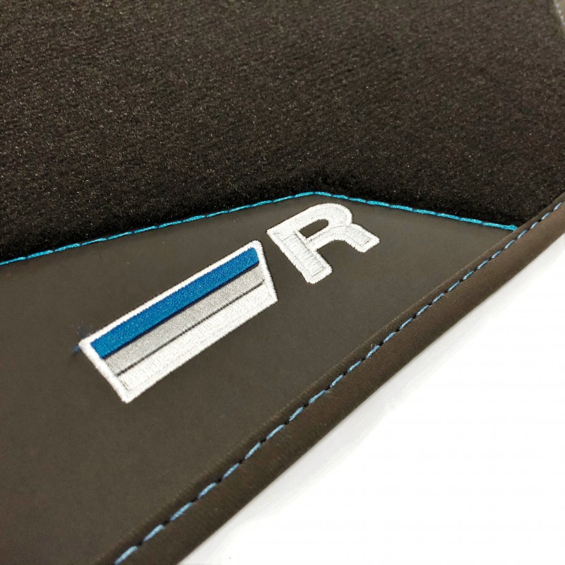 Ann/ée de Fabrication: 2010-2014 Just Carpets Tapis de Coffre sur Mesure pour Votre Passat B7 Qualit/é: Platinum 4 Pieces Version: SW