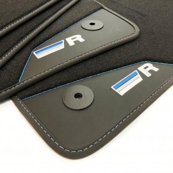 Tapis de Voiture Volkswagen Golf 6 Cabriolet (2011 - actualité) R-Line Bleu