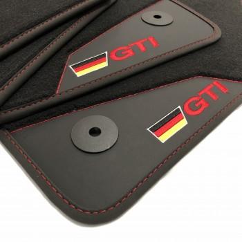 Tapis de Voiture Volkswagen Sharan 7 sièges (2010 - actualité) GTI - Le Roi du Tapis®