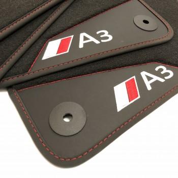 Tapis de Voiture Audi A3 8V7 Cabriolet (2014 - actualité) - Le Roi du Tapis®