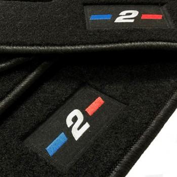 Tapis BMW Série 2 F46 5 sièges (2015 - actualité) logo sur mesure