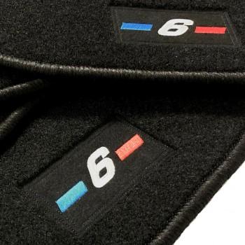 Tapis BMW Série 6 F06 Gran Coupé (2012 - actualité) logo sur mesure