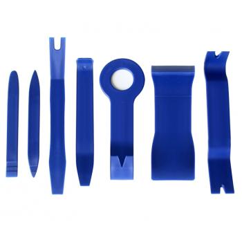 Kit outils pour le démontage de la voiture (staples, le plastique, les panneaux, les soffites)