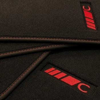 Tapis Mercedes Classe C CLC (2000-2010) Velour redline