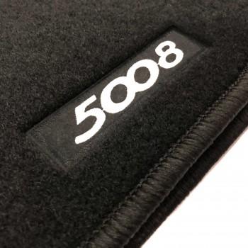 Tapis Peugeot 5008 7 sièges (2017 - actualité) sur mesure
