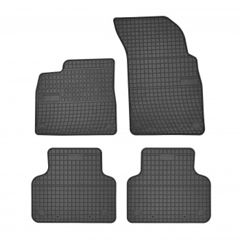 Tapis Audi Q7 4M 5 plazas (2015 - actualité) Caoutchouc