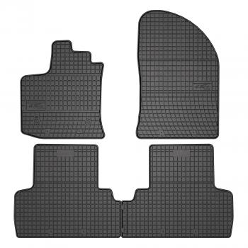 Tapis Dacia Lodgy 5 plazas (2012 - actualité) Caoutchouc - Le Roi du Tapis®