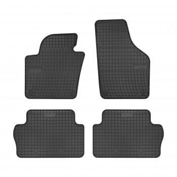 Tapis Volkswagen Sharan 5 plazas (2010 - actualité) Caoutchouc