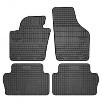 Tapis Volkswagen Sharan 7 plazas (2010 - actualité) Caoutchouc - Le Roi du Tapis®