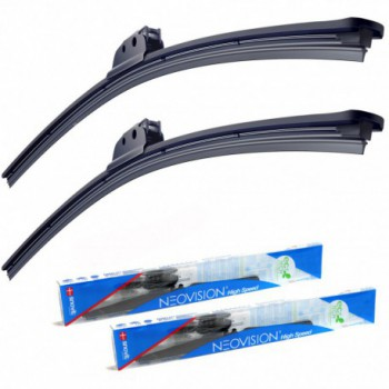 Kit d'essuie-glaces Toyota Land Cruiser 120 long (2002-2009)