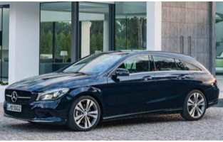 Protecteur de coffre de voiture réversible Mercedes CLA X117 Break (2015 - 2018)