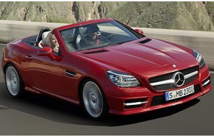 Protecteur de coffre de voiture réversible Mercedes SLK R172 (2011 - actualité)