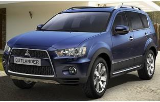 Protecteur de coffre de voiture réversible Mitsubishi Outlander 5 sièges (2007 - 2012)