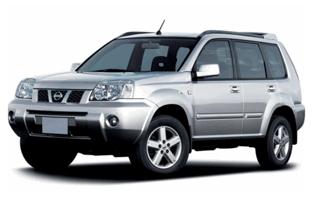 Protecteur de coffre de voiture réversible Nissan X-Trail (2001 - 2007)
