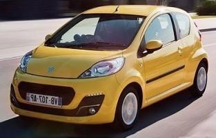 Protecteur de coffre de voiture réversible Peugeot 107 (2009 - 2014)