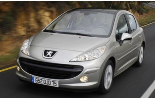 Protecteur de coffre de voiture réversible Peugeot 207 3 ou 5 portes (2006 - 2012)
