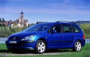 Protecteur de coffre de voiture réversible Peugeot 307 Break (2001 - 2009)