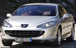 Protecteur de coffre de voiture réversible Peugeot 407 Coupé (2004 - 2011)