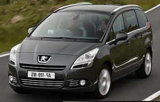 Protecteur de coffre de voiture réversible Peugeot 5008 7 sièges (2009 - 2017)