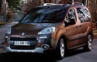 Tapis Peugeot Partner (2008 - 2018) Gris