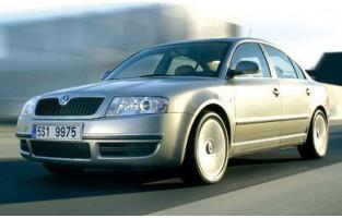 Protecteur de coffre de voiture réversible Skoda Superb (2002 - 2008)