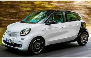 Protecteur de coffre de voiture réversible Smart Forfour W453 (2014 - actualité)
