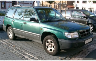 Protecteur de coffre de voiture réversible Subaru Forester (1997 - 2002)