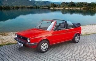Protecteur de coffre de voiture réversible Volkswagen Golf 1 Cabrio (1979 - 1993)