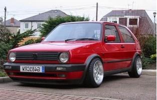 Protecteur de coffre de voiture réversible Volkswagen Golf 2