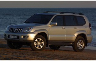 Protecteur de coffre de voiture réversible Toyota Land Cruiser 120 long (2002-2009)