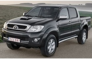 Protecteur de coffre de voiture réversible Toyota Hilux Cabine double (2004 - 2012)