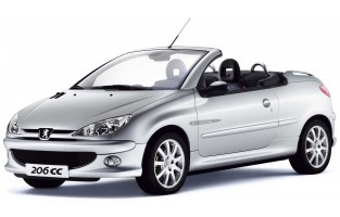 Protecteur de coffre de voiture réversible Peugeot 206 CC